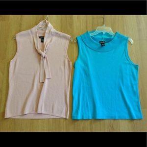 Tops - Bundle of 2 sleeveless sweaters